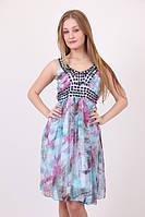 Нарядное женское платье камни в расцветках, фото 1