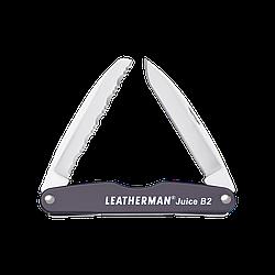 Мультитул LEATHERMAN Juice B2- Granite / мультиинструмент черного цвета