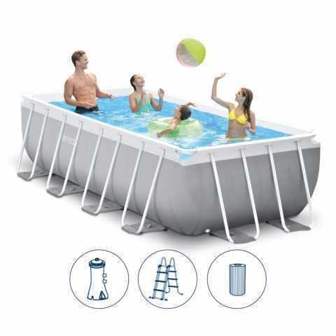 INTEX Каркасный бассейн Intex 400х200х100 см (26788)