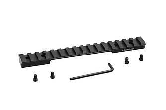 Планка Leupold Backcountry Cross-Slot Winchester XPR LA 1-pc Matte черного цвета
