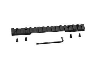 Планка Leupold Backcountry Cross-Slot Browning A-Bolt LA 1-pc Matte черного цвета