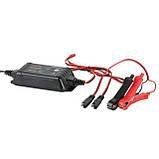 Зарядное устройство 6/12В, 2А, 230В, максимальная емкость заряжаемого аккумулятора 1.2-60 а/ч INTERTOOL, фото 4