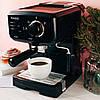 Кофеварка Magio MG-962, 1140 Вт, 15 бар, 1.25 л, фото 4