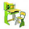 "Парта + стул E2071 GREEN-YELLOW ""Веселой учебы"""