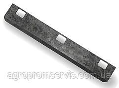 Нож вальца русла кукурузной жатки Аргус ППК-81.01.06.453 (396х63х5)