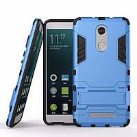 Чехол Iron для Xiaomi Redmi note 3 / note 3 pro бронированный Бампер Броня синий