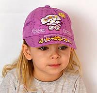 Слоник. Бейсболка хлопок. р. 47-50 (1-3 года) фиолет, фото 1
