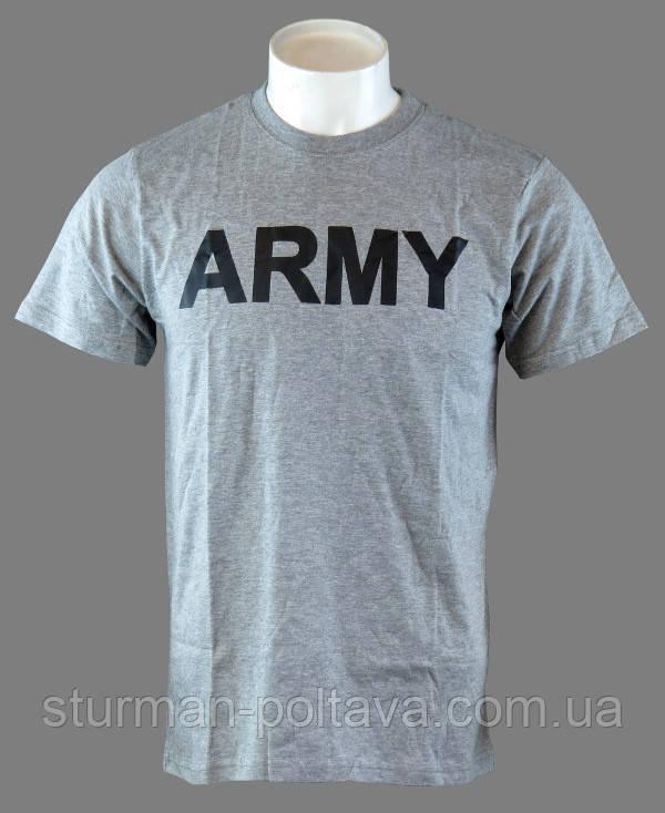 Футболка потовыводящая логотип  ARMY (ROTCHO )  США