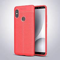 Чехол Touch для Xiaomi Mi A2 Lite / Redmi 6 Pro бампер оригинальный Auto focus Red