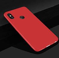 Чехол Style для Xiaomi Mi A2 / Mi 6x Бампер силиконовый красный