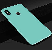 Чохол Style для Xiaomi Mi A2 / Mi 6x Бампер силіконовий бірюзовий