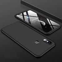 Чехол GKK 360 для Xiaomi Mi 8 бампер оригинальный Black