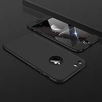 Чехол GKK 360 для Iphone 7 Plus / 8 Plus Бампер оригинальный с вырезом black
