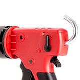 Пистолет для выдавливания силикона, усиленный пластик, 2 режима, аквастоп INTERTOOL HT-0028, фото 2