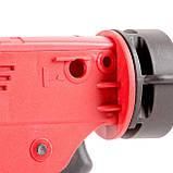 Пистолет для выдавливания силикона, усиленный пластик, 2 режима, аквастоп INTERTOOL HT-0028, фото 5