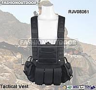 Разгрузка Fashion Outdoor Tactical Vest черного цвета