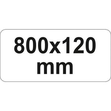 """Струбцина з важільним затискачем, стальна, тип """"F"""", l= 800 мм, h= 120 мм, YT-63957 YATO, фото 2"""