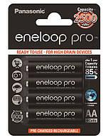 Аккумулятор Panasonic Eneloop Pro AA 2500 мАч Ni-MH 4 шт