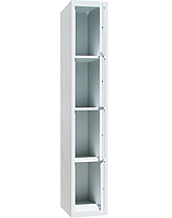 Ячеечные шкафы ШО-400/1-4 (4 ячейки 500х400хН450 мм), камера хранения для магазина, локер, фото 1