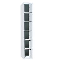 Ячеечные шкафы ШО-400/1-6  (6 ячеек 500х400хН300 мм), камера хранения для магазина, локеры