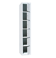 Ячеечные шкафы ШО-300/1-6 (6 ячеек 500х300хН300 мм), камера хранения для магазина, локеры