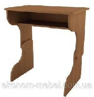 Стол письменный для детей, парта Малыш, регулируемая высота
