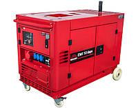 ⭐ Генератор дизельный 10 кВт Vitals Professional EWI 10daps электрический стартер, 230 В, ATS (АВР)