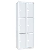 Ячеечные шкафы ШО-300/2-6 (6 ячеек 500х300хН600 мм), камера хранения для магазина, локер, фото 1