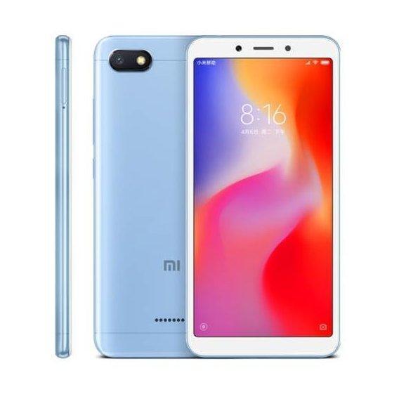 Смартфон Xiaomi Redmi 6A 2/32Gb LTE Blue Global Version