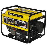 ⭐ Генератор бензиновый 5 кВт Кентавр КБГ505E электрический и ручной стартер