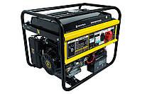 ⭐ Генератор бензиновый 6 кВт Кентавр КБГ605Э/3 электрический и ручной стартер, 380 В