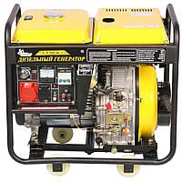 ⭐ Генератор дизельный Кентавр 5кВт КДГ505EК/З электрический стартер, напряжение 380 В