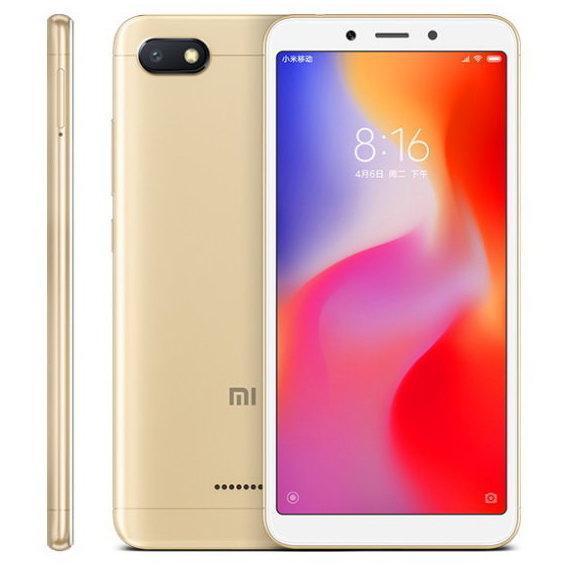 Смартфон Xiaomi Redmi 6A 2/32Gb LTE Gold Global Version