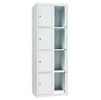 Ячеечные шкафы ШО-300/2-8 (8 ячеек 500х300хН450 мм), камеры хранения для магазина, локеры, фото 1