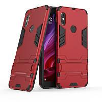Чехол Iron для Xiaomi Redmi S2 бронированный бампер Броня Red