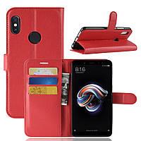 Чохол IETP для Xiaomi Mi A2 / Mi 6X книжка шкіра PU червоний