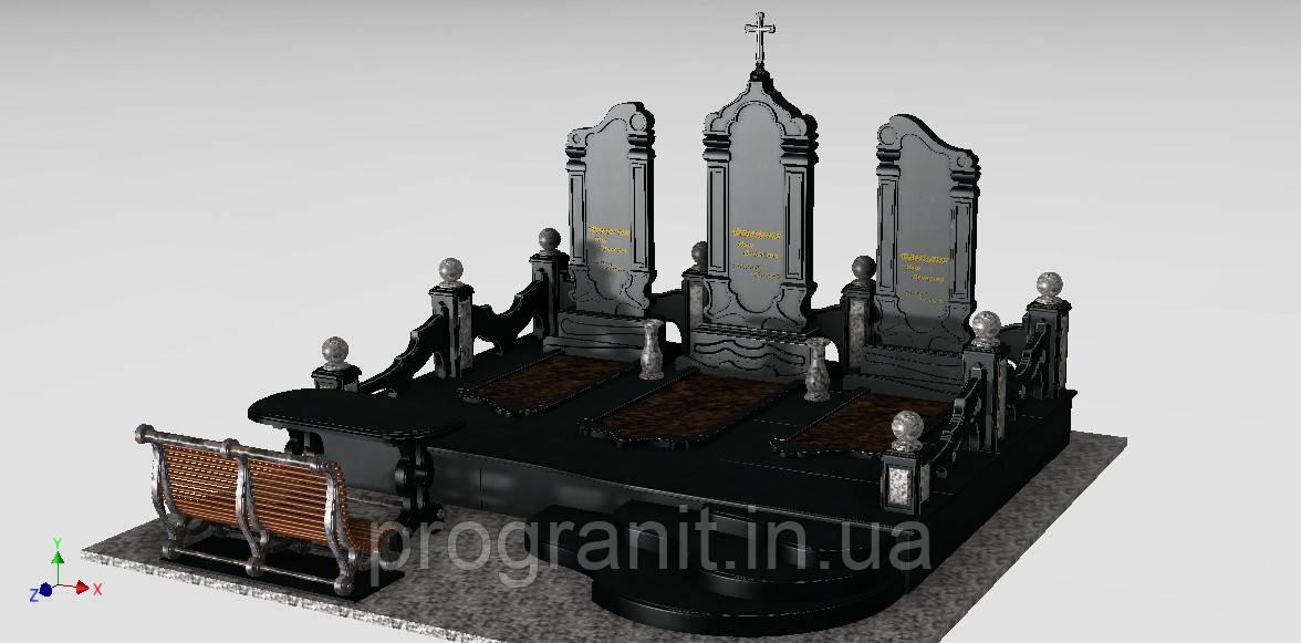 Мемориальный комплекс (габбро, покостовка)