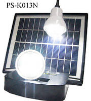 Светильник на солнечной батарее 4W Solar Kit with 2 Led Lights