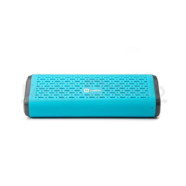 Колонки портативные 2.0 Harper PS-042 RMS 6W, Bluetooth, микрофон, FM, USB, microSD, питание от аккумулятора, синий