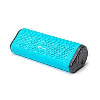 Колонки портативные 2.0 Harper PS-042 RMS 6W, Bluetooth, микрофон, FM, USB, microSD, питание от аккумулятора, синий, фото 2
