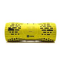 Колонки портативные 2.0 Harper PS-045 RMS 6W, Bluetooth, микрофон, влагонепроницаемые, питание от аккумулятора, жёлтый, фото 2