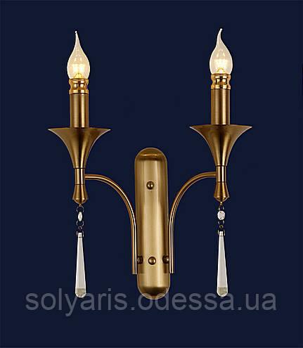 Бра свеча 775W6132-2 CU