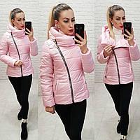 Демисезонная куртка 2019 ,арт. 501, цвет розовый, фото 1