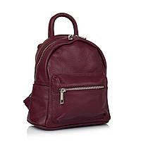 Рюкзак Virginia Conti VC01383bordo кожаный Бордовый