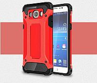 Чехол Guard для Samsung Galaxy J7 2016 / J710 J710h Бампер бронированный Immortal Red