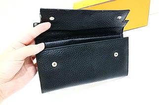 Черный женский кошелек «12906», фото 3