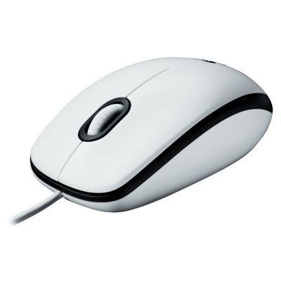 Мышка Logitech M100 White (910-005004)