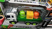 Машинка игрушечная инерционная, свет, звук, фото 1