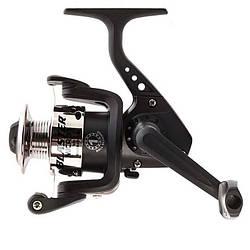 Катушка безинерционная для удилища Salmo Blaster MICRO 1 500FD / Катушка для рыбалки черного цвета