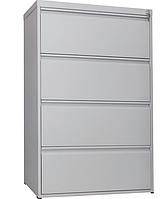 Шкаф файловый ШФ-4С, офисный металличекий шкаф для файлов формата А4, шкаф в бухгалтерию, архив, канцелярию